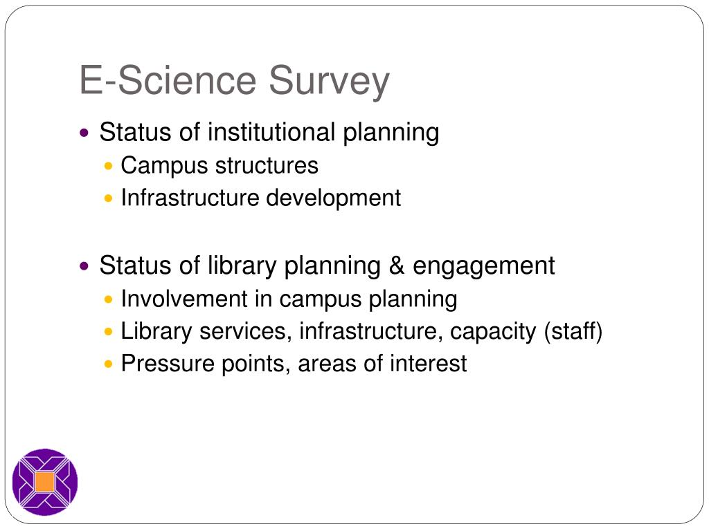 E-Science Survey