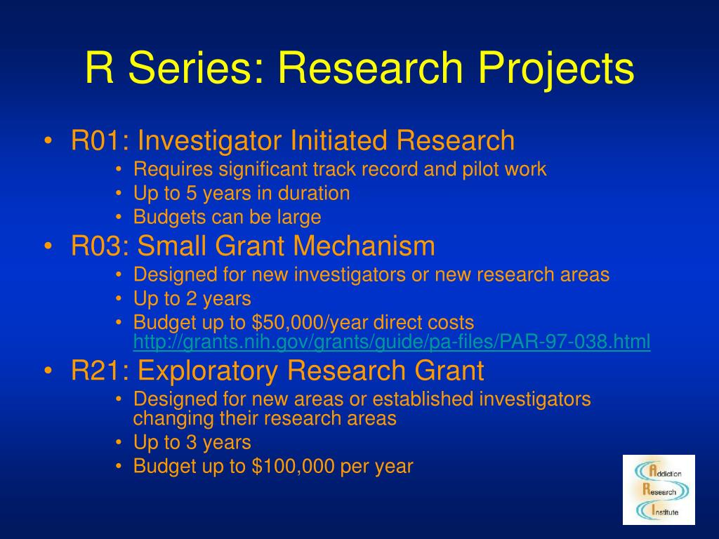 R Series: Research Projects