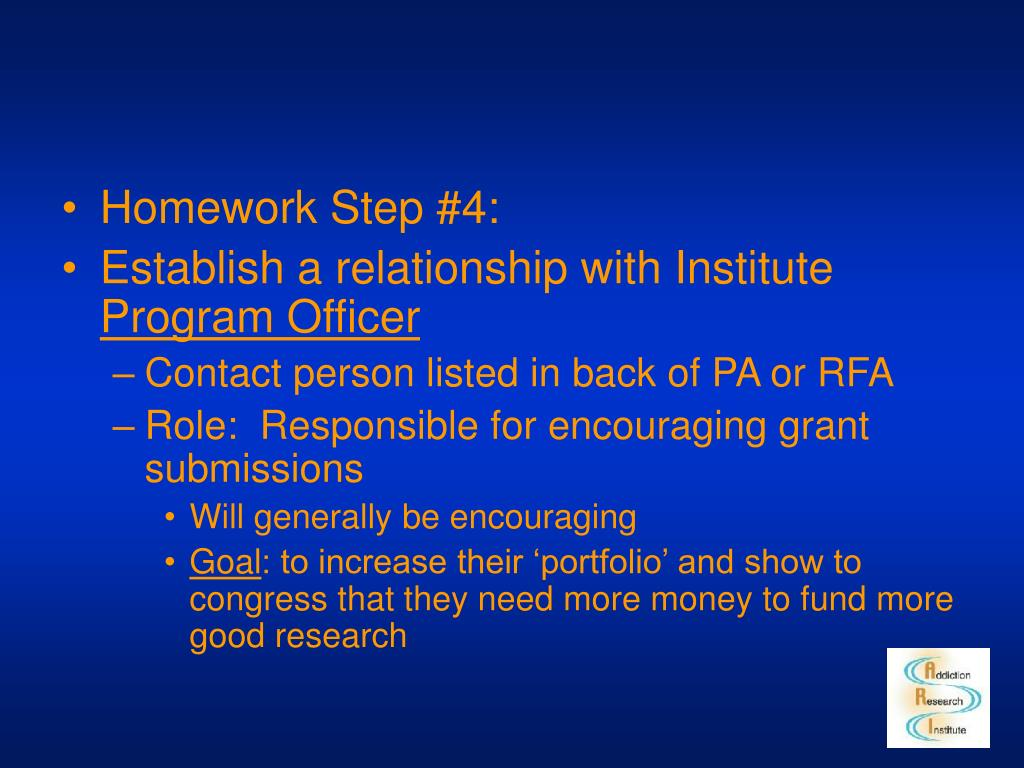 Homework Step #4:
