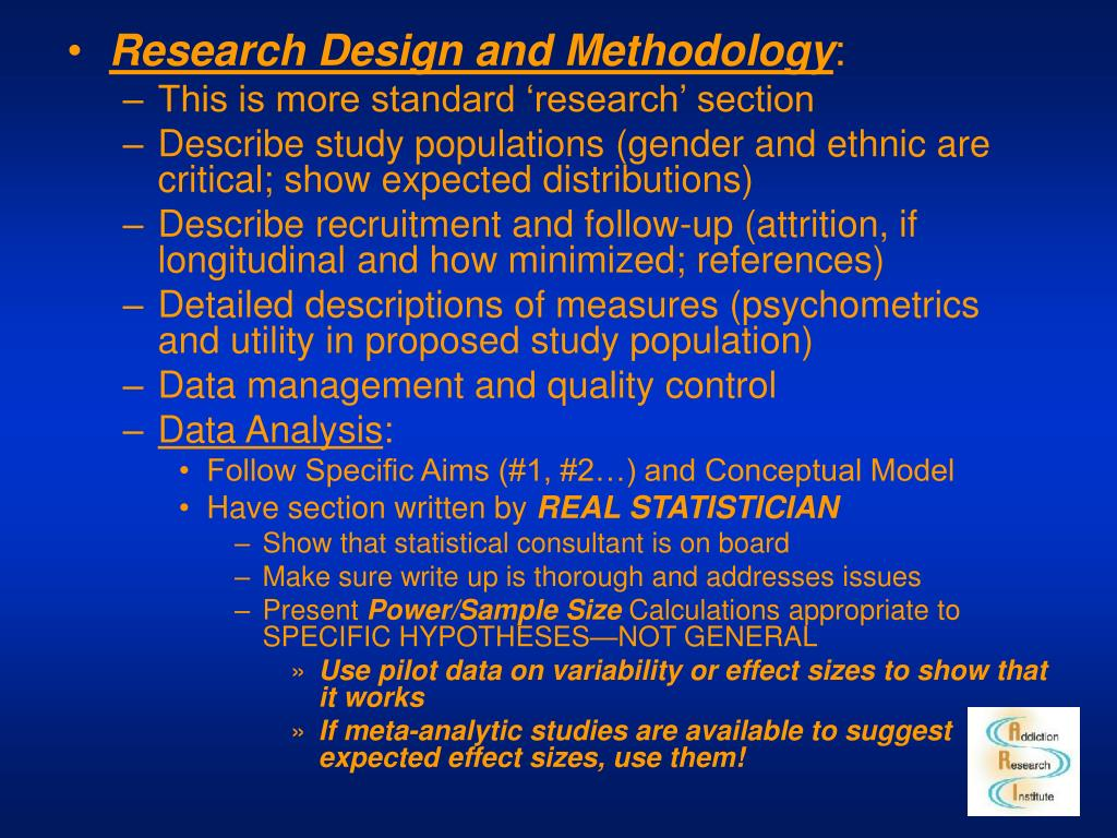 Research Design and Methodology