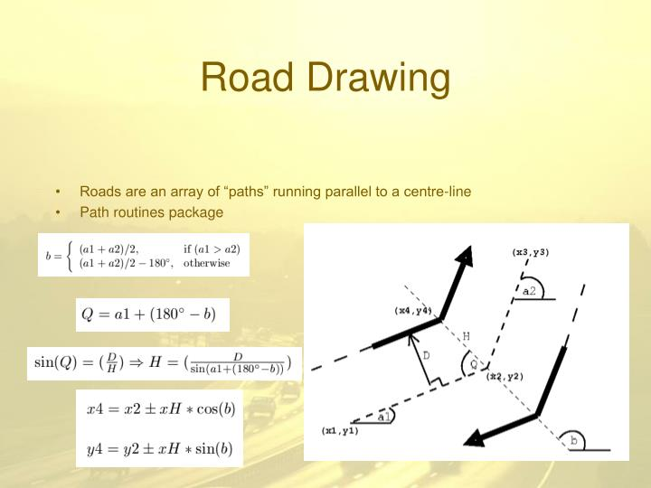 Dda Line Drawing Algorithm Java Applet : Ppt visual traffic simulation powerpoint presentation