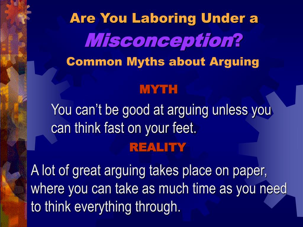 Are You Laboring Under a