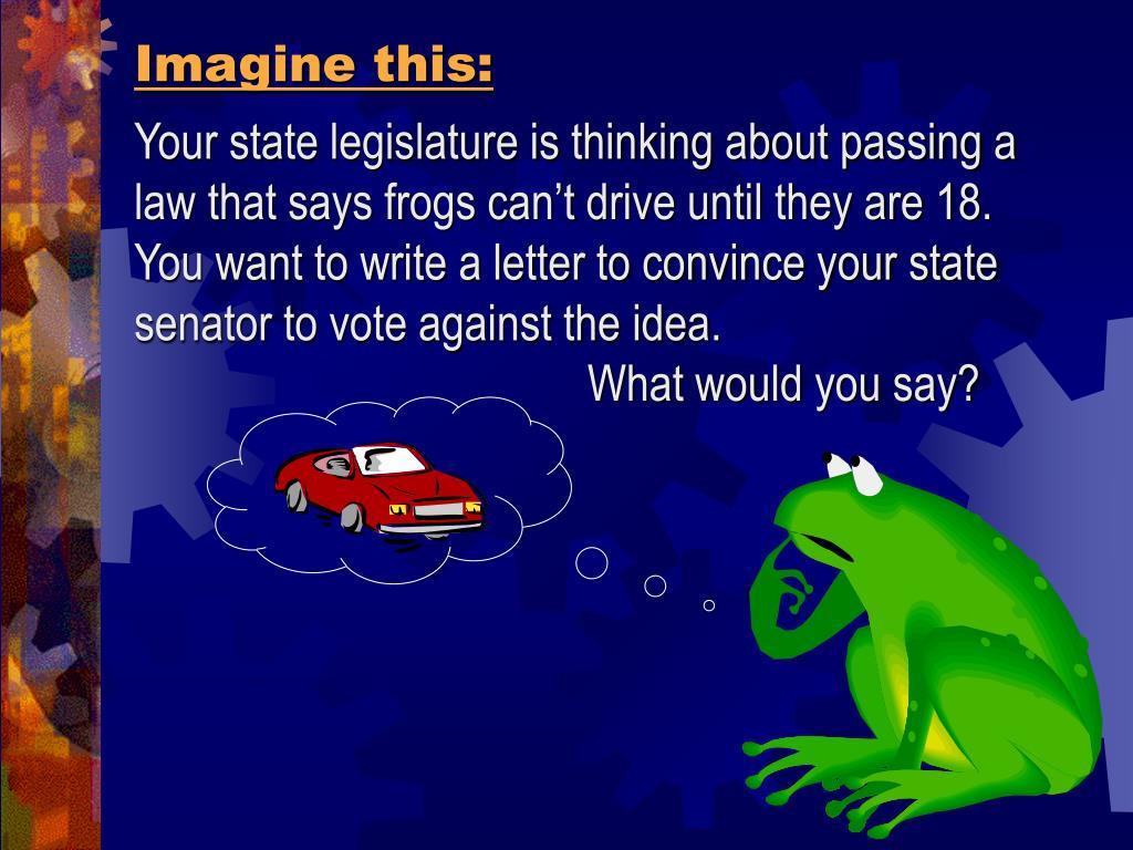 Imagine this:
