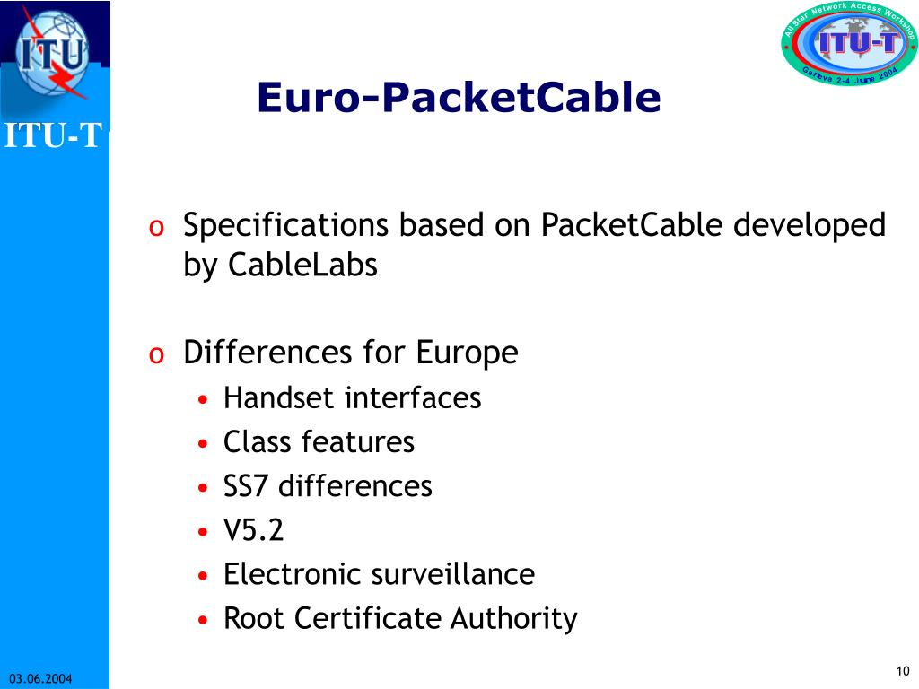 Euro-PacketCable