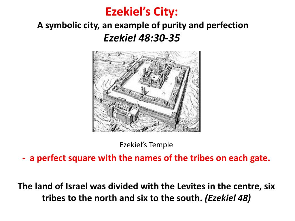 Ezekiel's City: