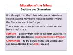 migration of the tribes s ythians and cimmerians