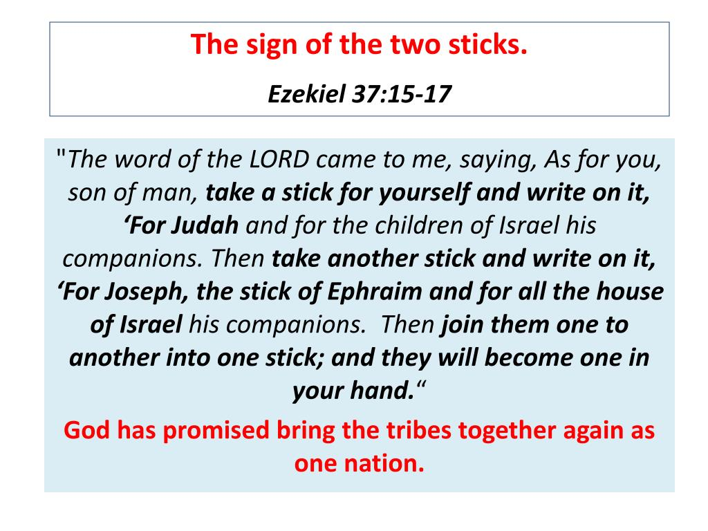 The sign of the two sticks.
