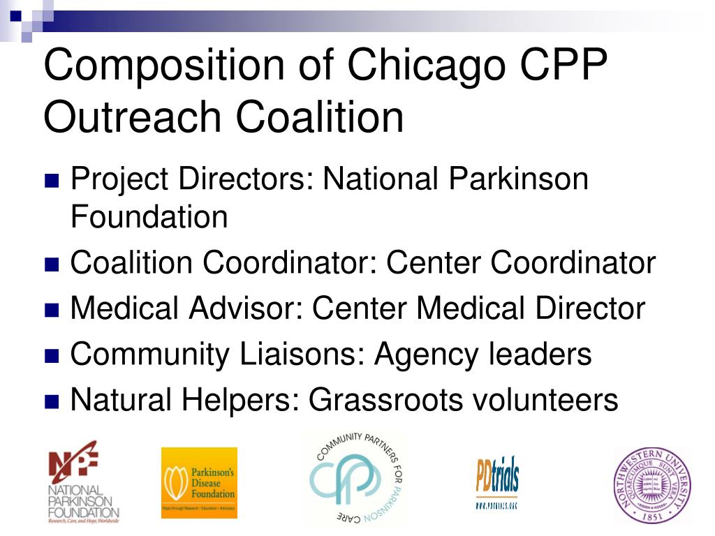 Composition of Chicago CPP Outreach Coalition