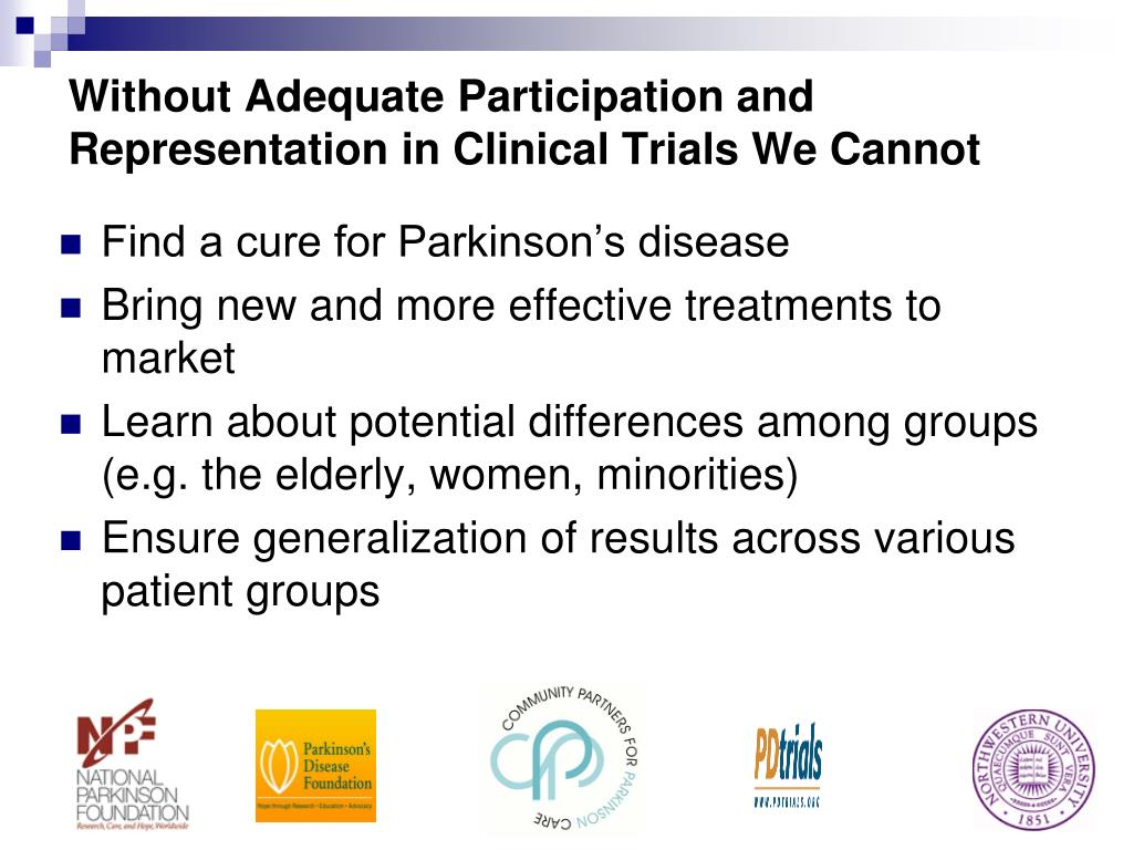 Without Adequate Participation and Representation in Clinical Trials We Cannot