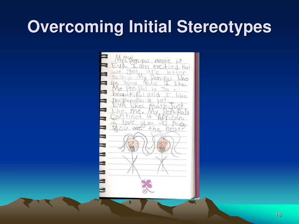 Overcoming Initial Stereotypes