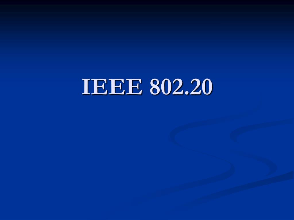 IEEE 802.20