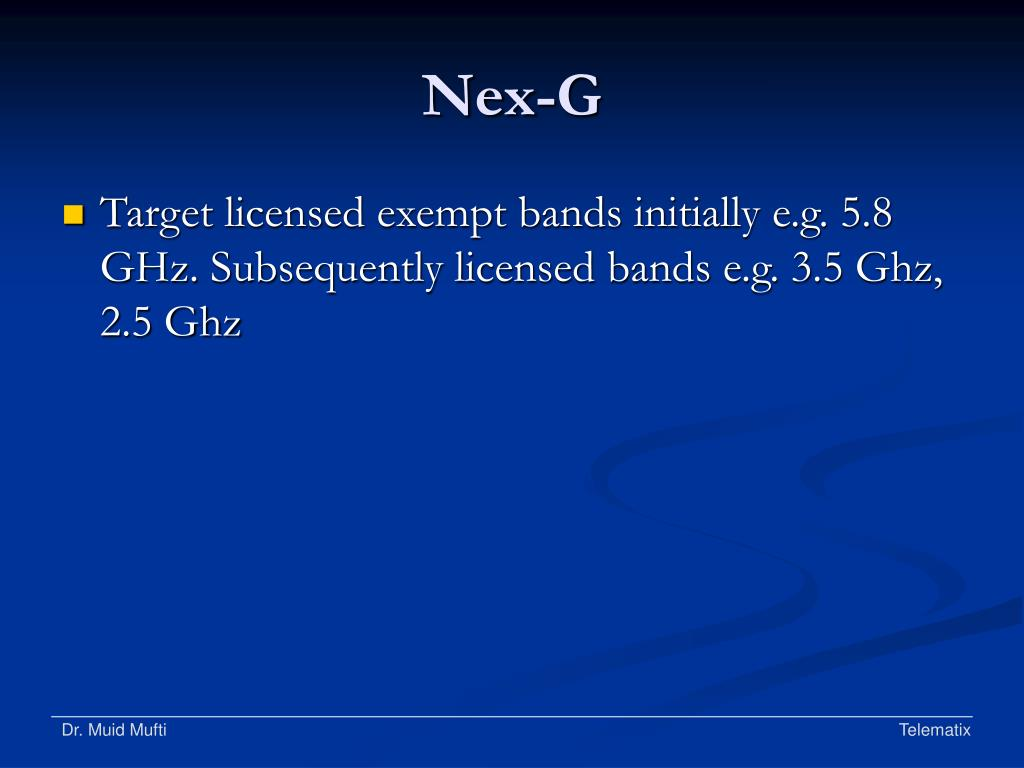 Nex-G