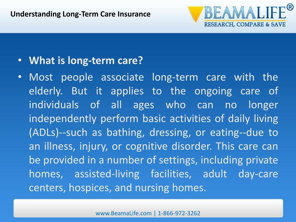 Understanding Long-Term Care Insurance