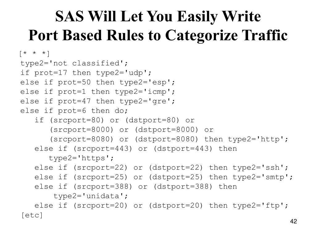 SAS Will Let You Easily Write