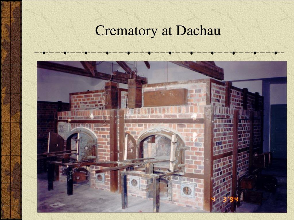 Crematory at Dachau