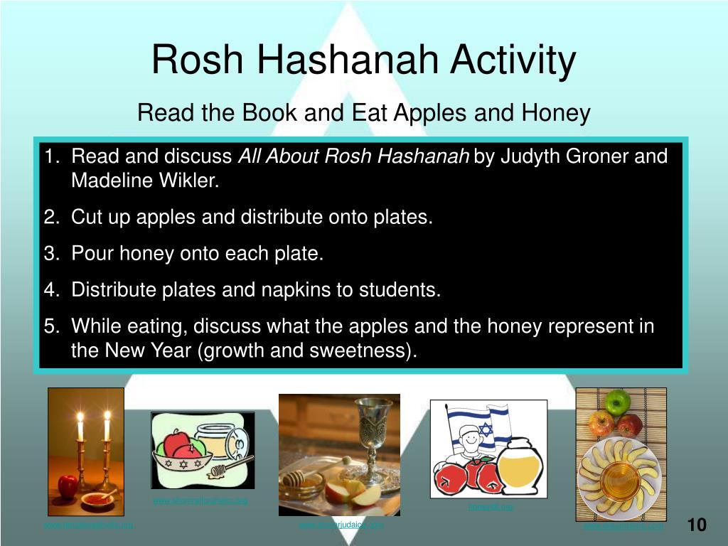 Rosh Hashanah Activity