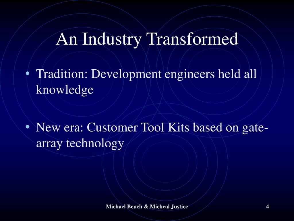 An Industry Transformed