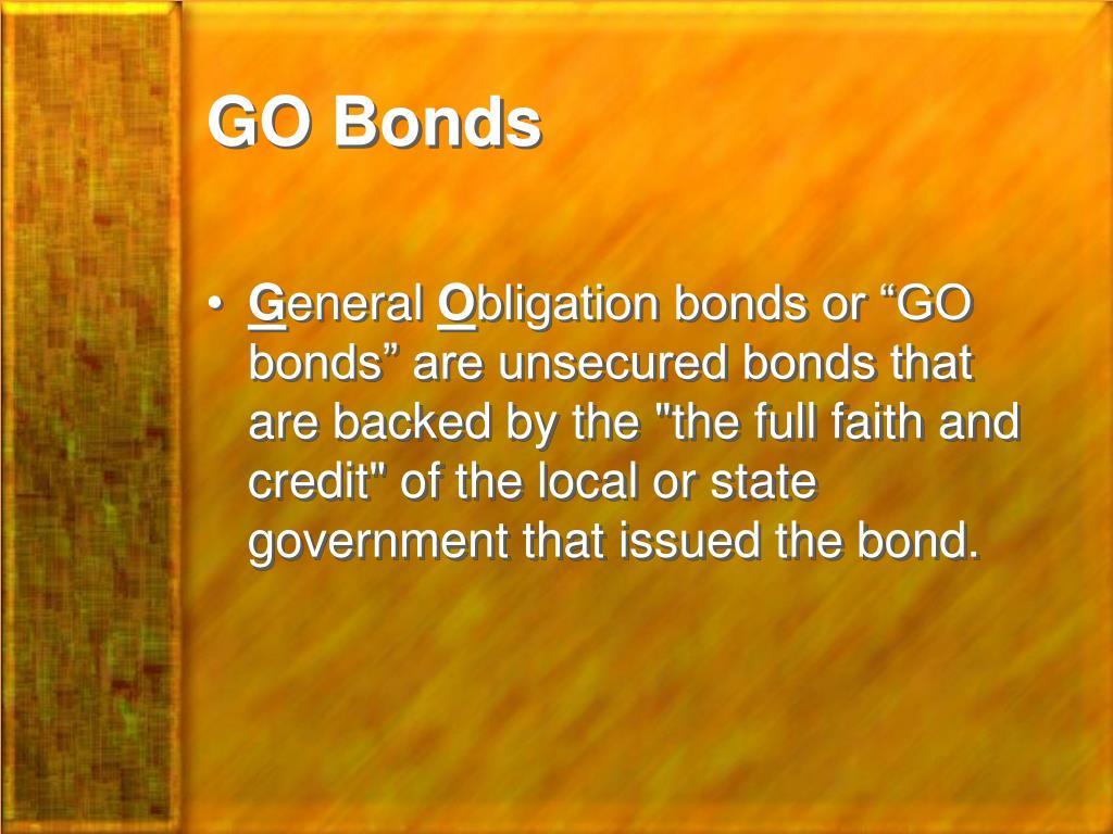 GO Bonds