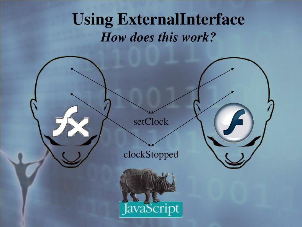 Using ExternalInterface