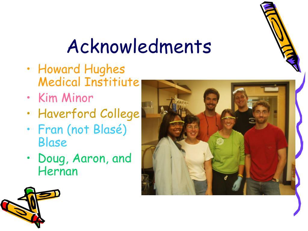 Acknowledments
