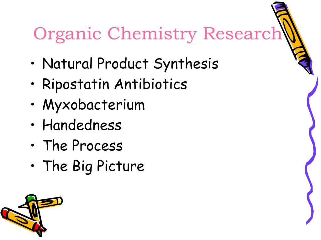 Organic Chemistry Research