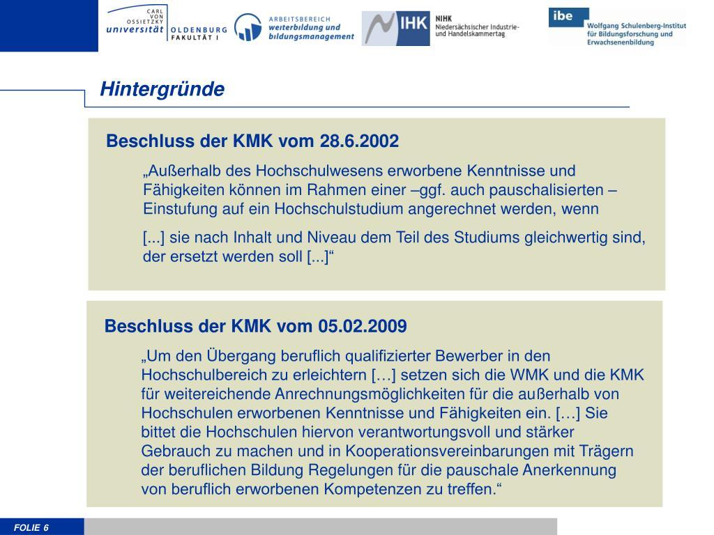 Beschluss der KMK vom 28.6.2002