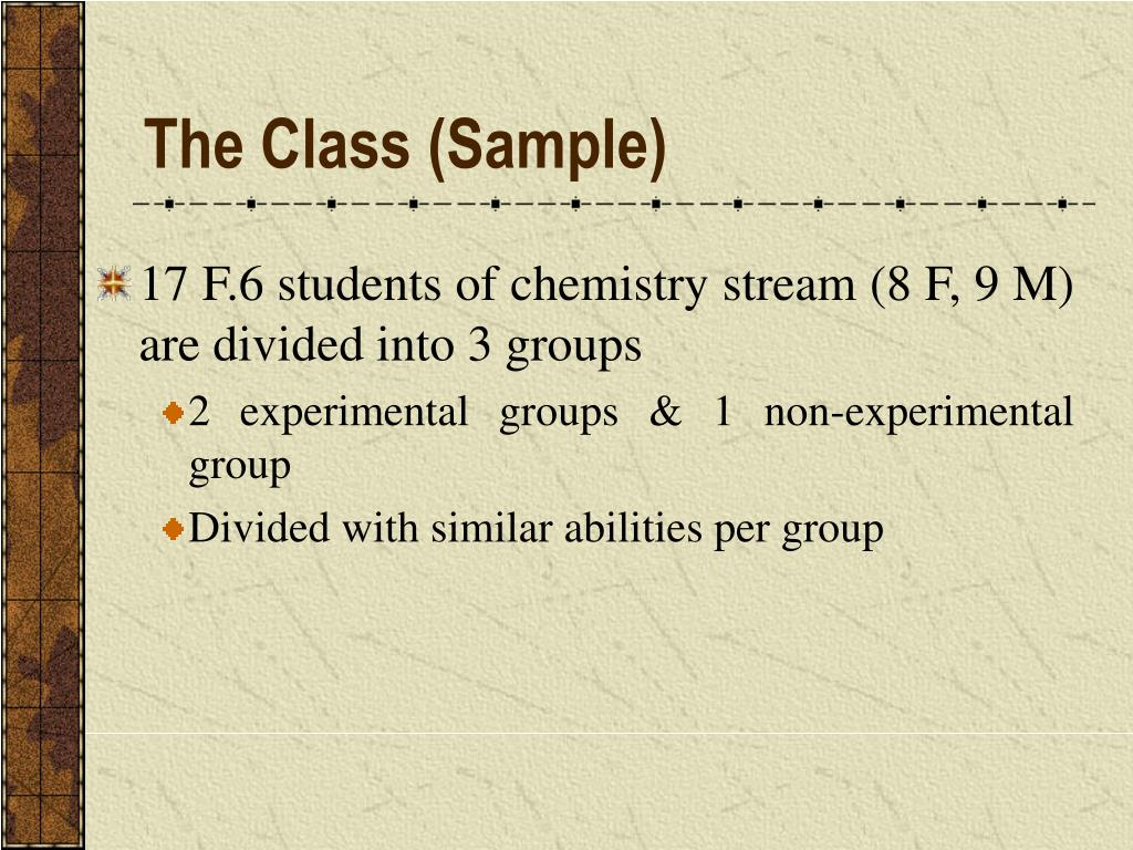 The Class (Sample)
