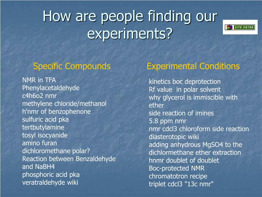 How are people finding our experiments?