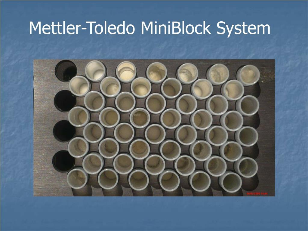 Mettler-Toledo MiniBlock System