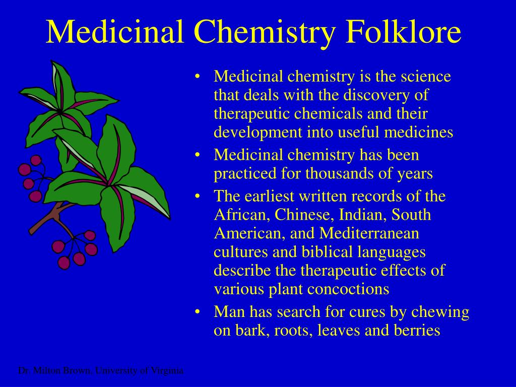 Medicinal Chemistry Folklore
