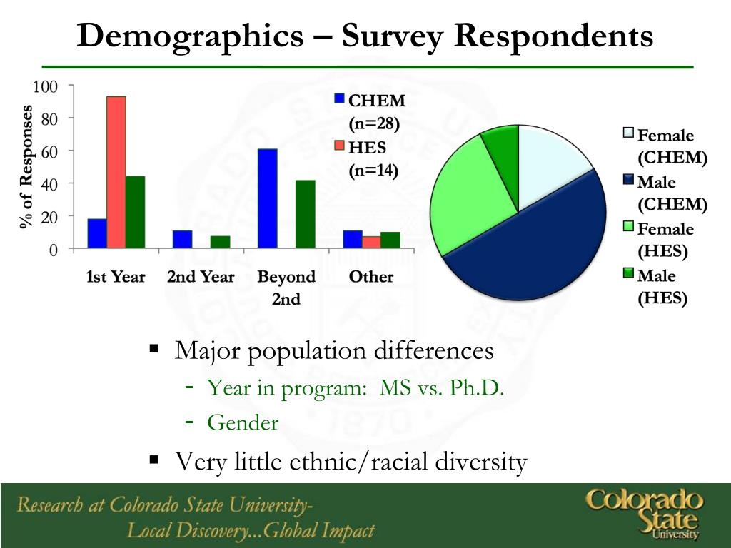 Demographics – Survey Respondents