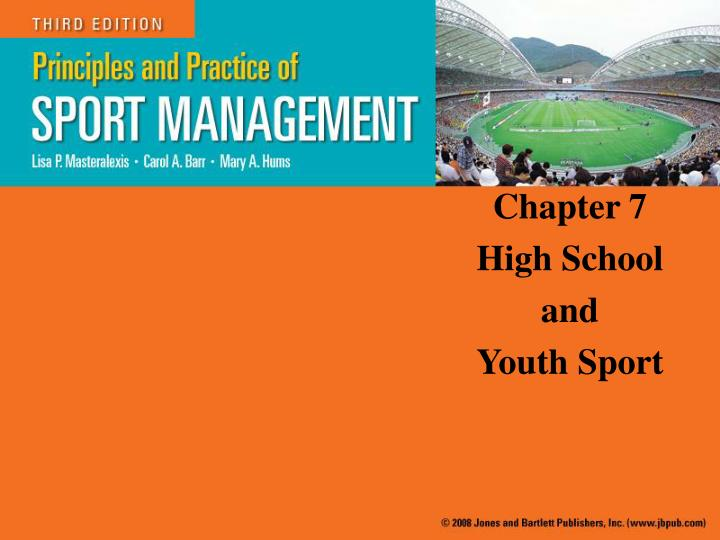 Chapter 7 high school and youth sport