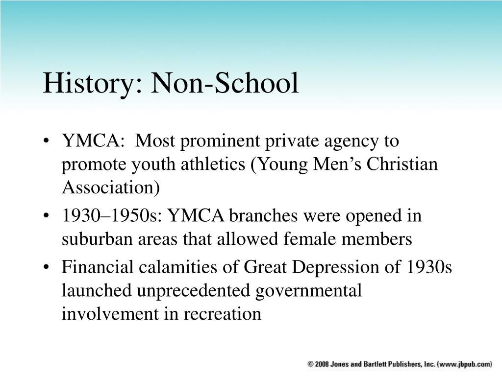 History: Non-School