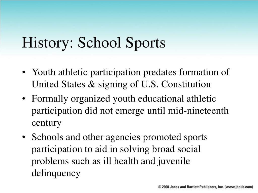 History: School Sports