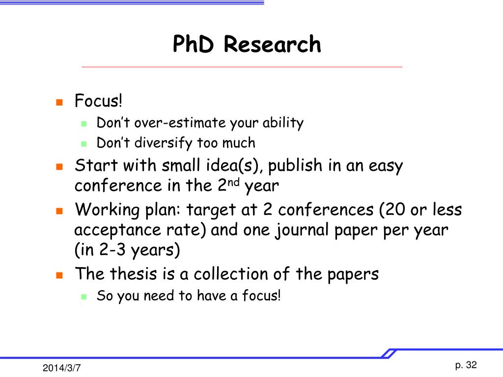 PhD Research