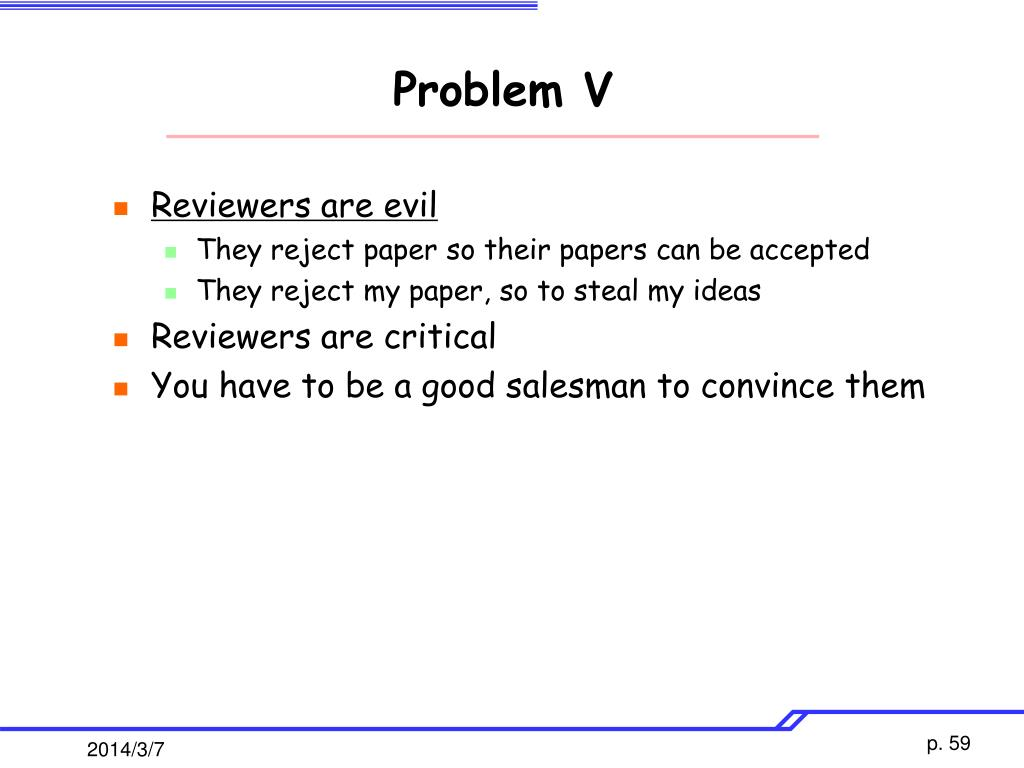 Problem V
