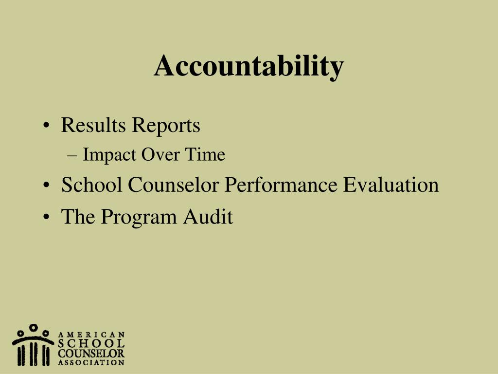 report accountability counseling No accountability for interchange counseling institute founder steve bearman before bearman was sued by six women for alleged sexual assault, a state licensing board failed to investigate reports.
