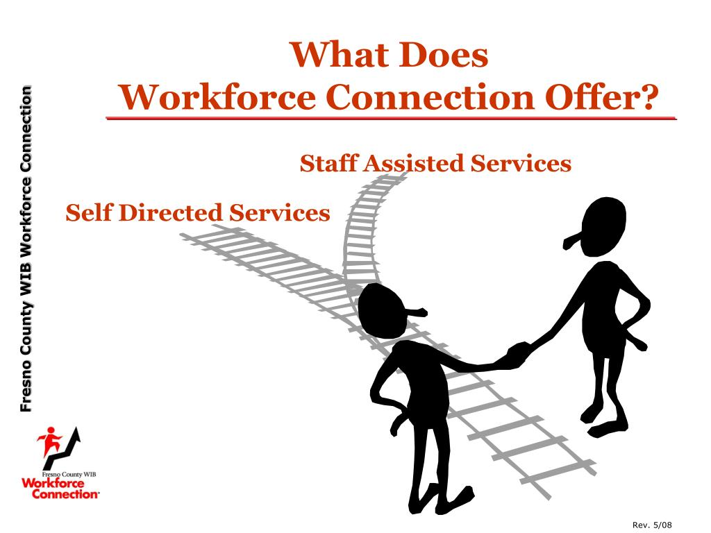 What Does                                            Workforce Connection Offer?
