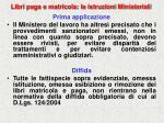 libri paga e matricola le istruzioni ministeriali79