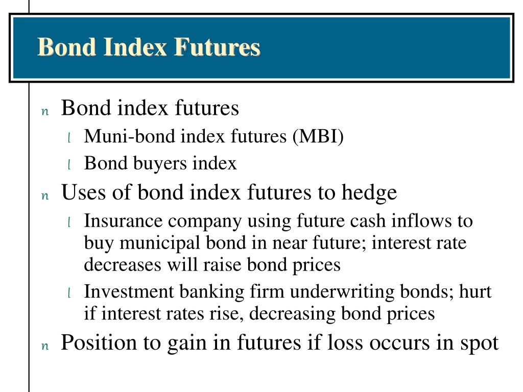Bond Index Futures