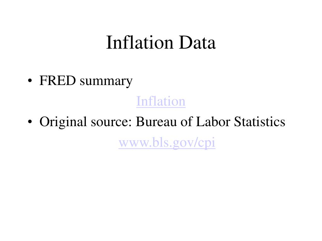 Inflation Data