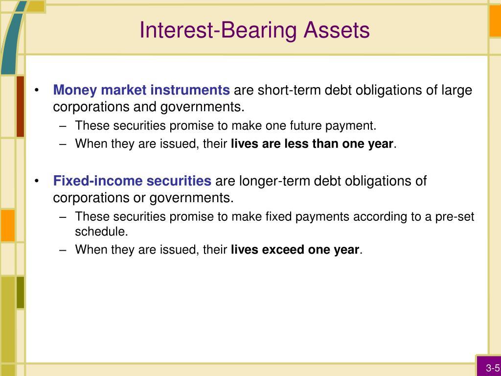 Interest-Bearing Assets