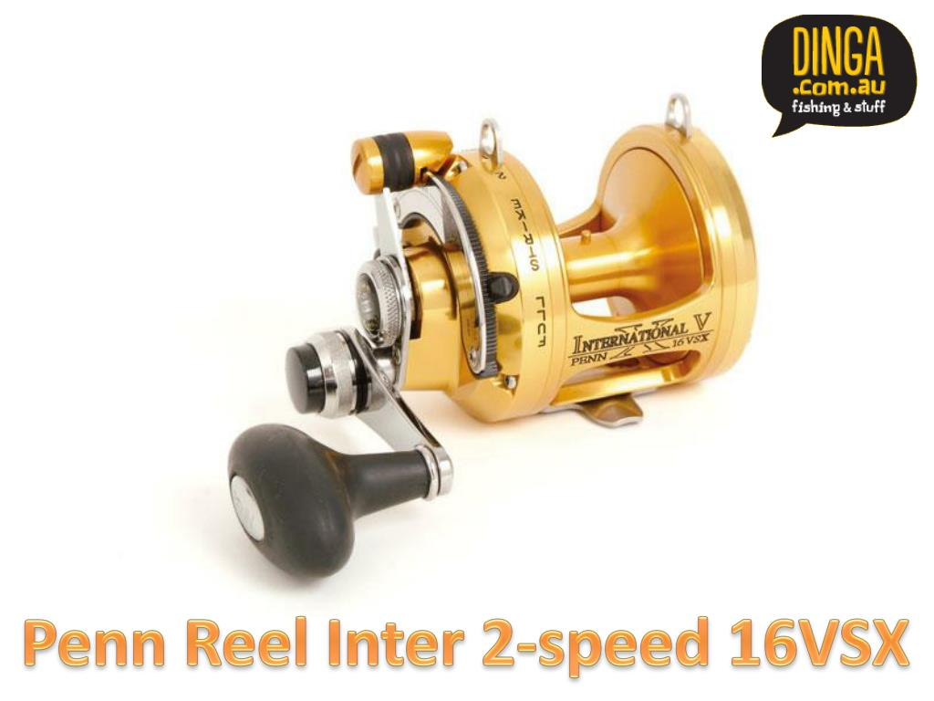 Penn Reel Inter 2-speed 16VSX
