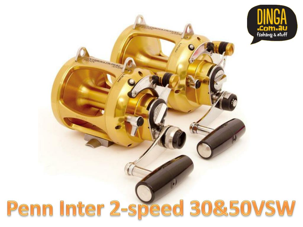 Penn Inter 2-speed 30&50VSW