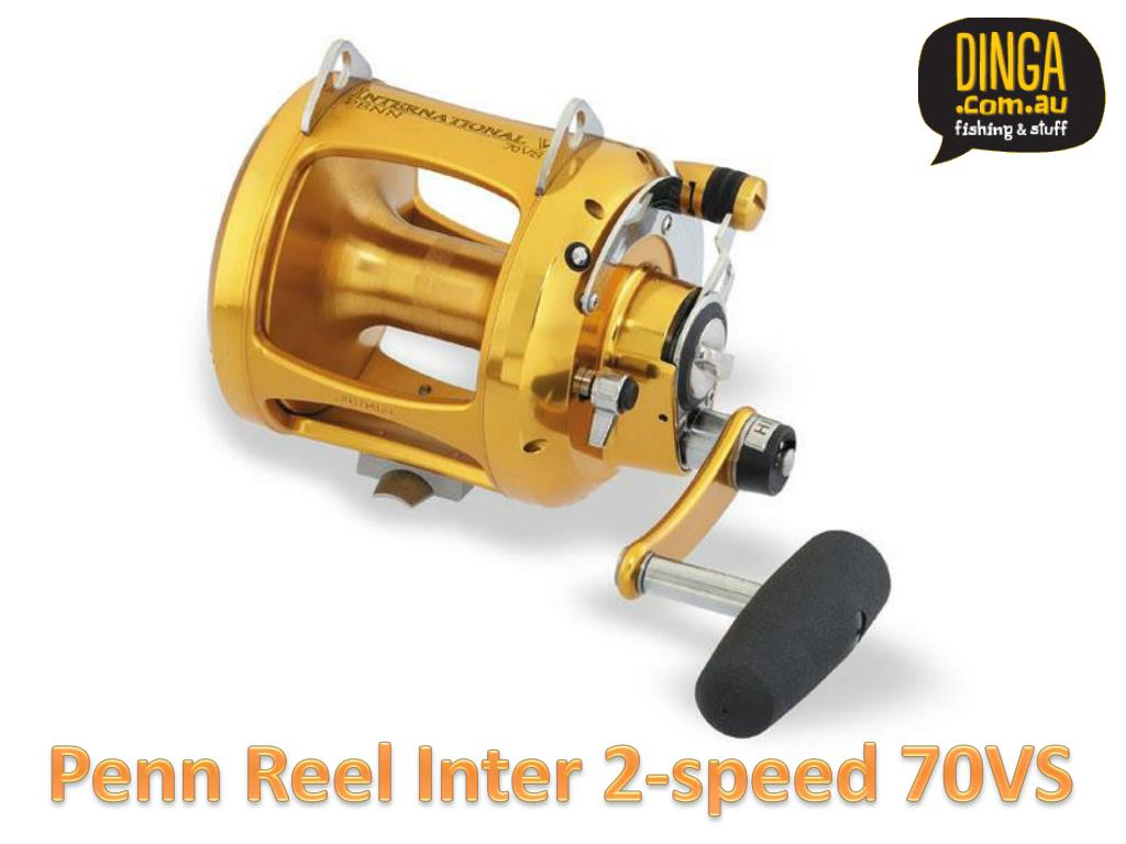 Penn Reel Inter 2-speed 70VS