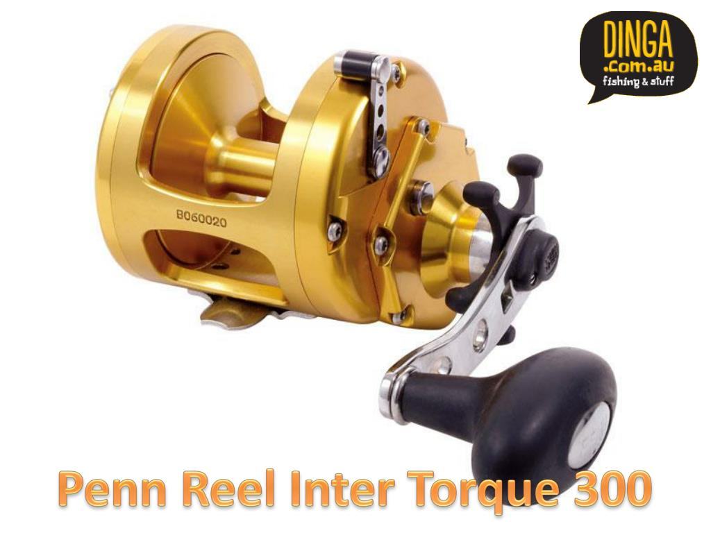 Penn Reel Inter Torque 300