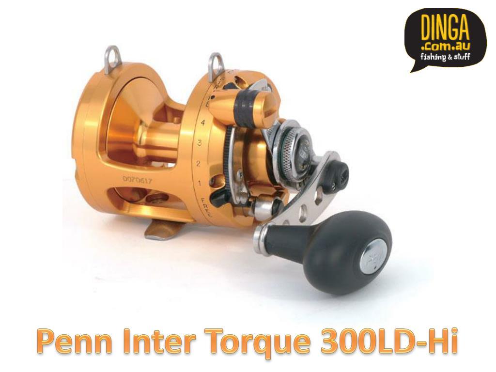 Penn Inter Torque 300LD-Hi
