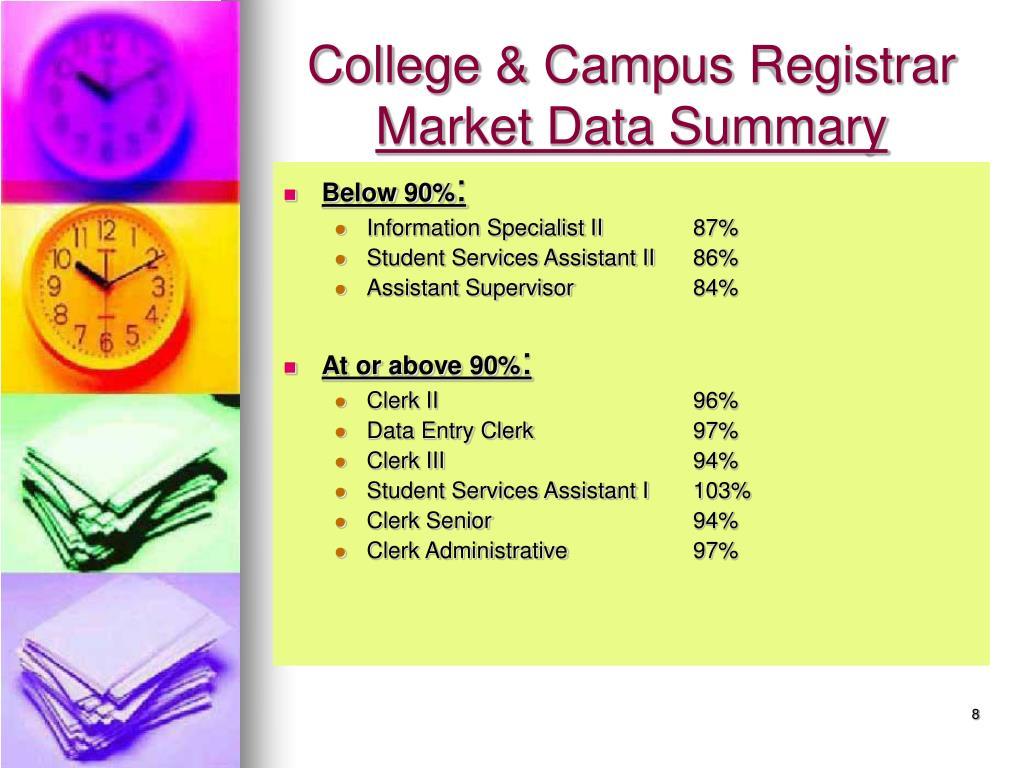 College & Campus Registrar