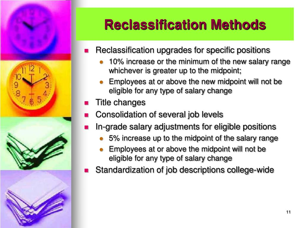 Reclassification Methods