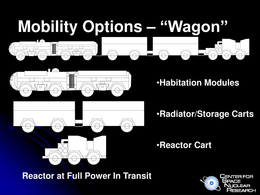 """Mobility Options – """"Wagon"""""""